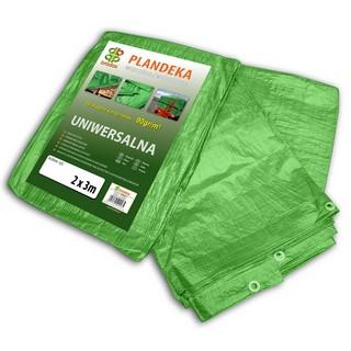 Abdeckplanen, 90 gr./qm, grün