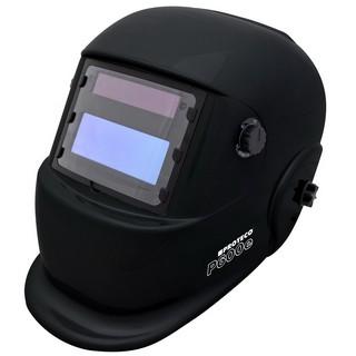P600E Solar Automatik Schweißhelm Schweisshelm Glanz Schwarz
