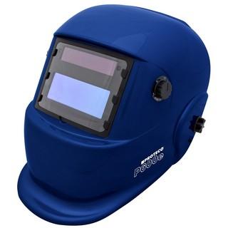 P600E Solar Automatik Schweißhelm Schweisshelm BLAU