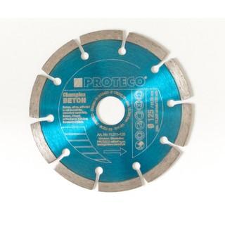 Diamant Trennscheibe 125 mm segmentiert Trockenschnitt