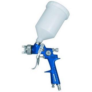HVLP Lackierpistole Spritzpistole für Wasserlacke Autolacke V2A Düse 1,7 mm Spotrepair Airbrush